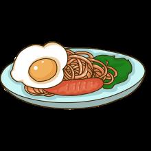 蛋肉炒面/粉